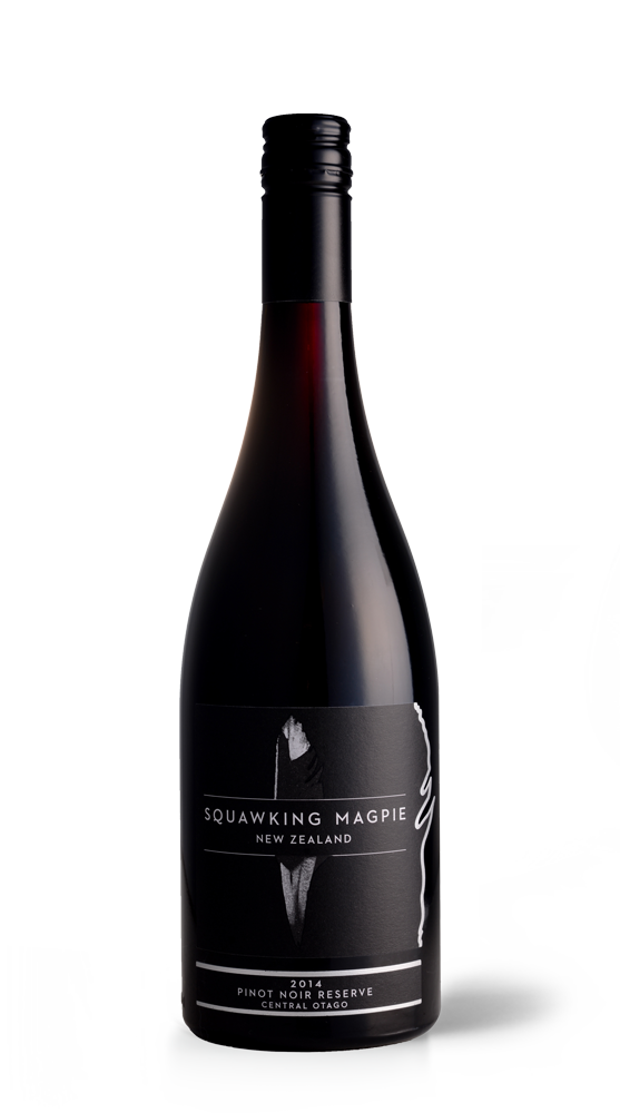 Reserve Central Otago Pinot Noir | Hawke's Bay Wine | Gimblett Gravels | Squawking Magpie