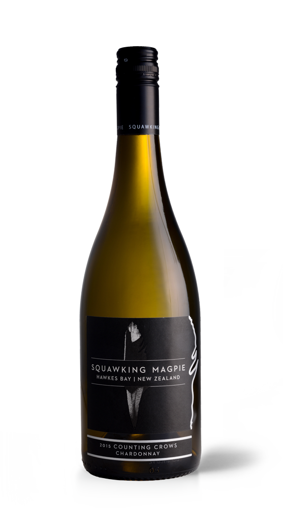 Counting Crows Chardonnay | Hawke's Bay Wine | Gimblett Gravels | Squawking Magpie