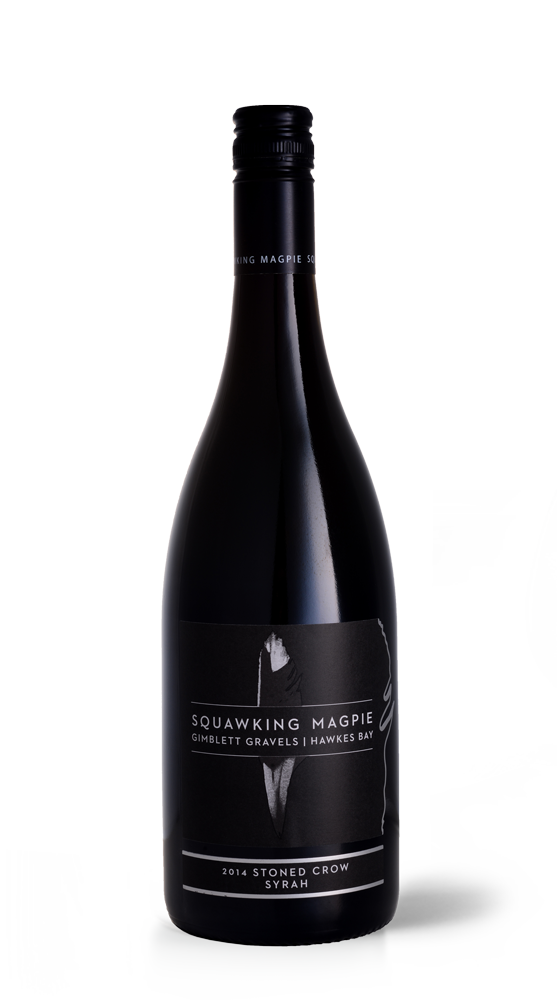 Gimblett Gravels Stoned Crow Syrah | Hawke's Bay Wine | Gimblett Gravels | Squawking Magpie